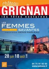 Chateau de grignan, les femmes savantes