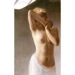 nue au jupon, Pierre Carrier Belleuse