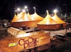 chapiteau, cirque plume