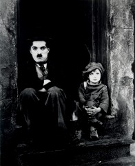 The kid, charlie chaplin, charlot